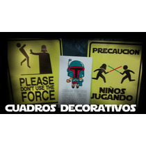 Cuadros Decorativos Star Wars