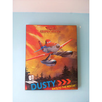 Cuadro De Dusty Fumiga Aviones 100% Madera 50x40 Cms
