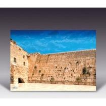 Cuadro Poliester Kotel Muro Lamentos. 55x75cm Made In Israel