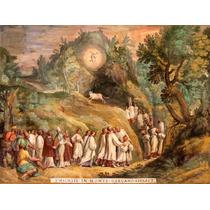 Lienzo Tela Arte Sacro Aparición Arcángel San Miguel 50 X 66