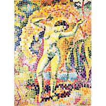 Lienzo Tela El Baile Pintor Jean Metzinger 1906 68 X 50 Cm