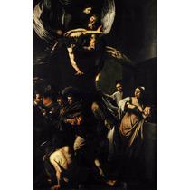 Lienzo Tela 7 Obras De Misericordia Arte Sacro Caravaggio