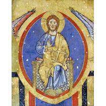 Lienzo Tela Cristo Pantócrato Todo Poderoso Arte Sacro 50x60
