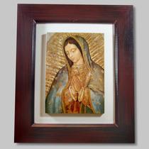 Virgen De Guadalupe Cuadro Regalo Boda Comunion Cromo