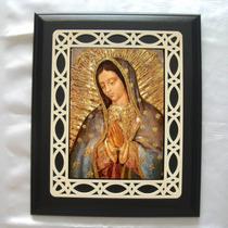 Virgen De Guadalupe Cuadro Regalo Boda Comunión Calado
