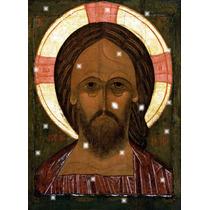 Lienzo Tela Cristo Pantócrato Todo Poderoso Arte Sacro 50x65