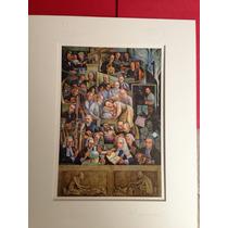 Litografías De Diego Rivera, Paneles La Historia Cardiología