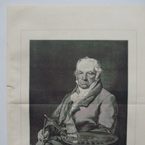 Litografia. Mundo Ilustrado, 1879. Goya.