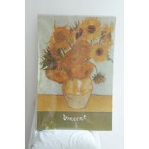 Vincent Van Gogh Girasoles Ilustración Fina.importada De Usa