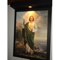 Cuadro Religiosos En Litografía Una Luz