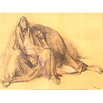 Francisco Zuñiga Litografia Madre E Hija 1974 Misrachi