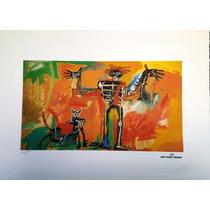 Jean Michel Basquiat Litografía - Fashionella -