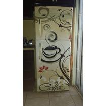 Personaliza Tu Refrigerador.vinil Hd