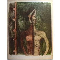 Rufino Tamayo / Torso De Joven /litografía Original Ed. Lujo