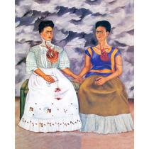 Litografía Original De Frida Kahlo, 40 X 50 Cm.
