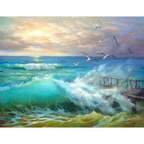 Wave - Cuadros, Pinturas Al Oleo De Dmitry Spiros