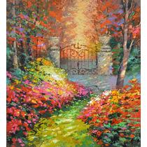 In Autumn Garden - Cuadros Pinturas Al Oleo De Dmitry Spiros
