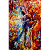 Toward Sun - Pintura Al Óleo Maestro Leonid Afremov, Ballet