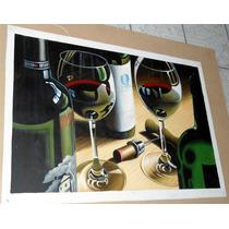 Copas. Pintura Al Óleo En Medidas 60 X 90 Cm Envío Gratis