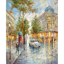 White Taxi - Cuadros, Pinturas Al Oleo De Dmitry Spiros