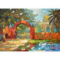 Hacienda - Cuadros, Pinturas Al Oleo De Dmitry Spiros