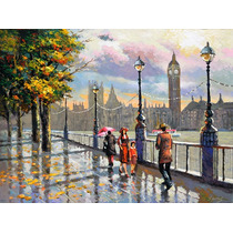 London. Autumn - Cuadros, Pinturas Al Oleo De Dmitry Spiros