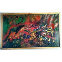 Dragon, Oleo, Armando Anguiano Valdez