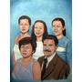 Retratos Al Oleo, Regala Algo Realmente Original, Obras Arte