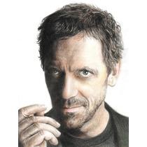 Dibujo Dr House.