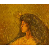 Mujer Iguana Firmada Hector Decont