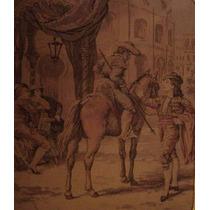 Toreador From Carmen Opera Rare & Old Tapestry