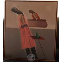 Pintura Al Oleo Sobre Tela - Roberto Cordero