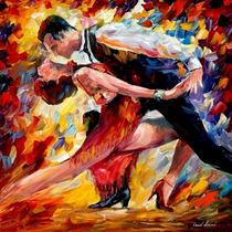 Pintura Al Oleo Del Maestro L.afremov , Obra De Arte, Cuadro