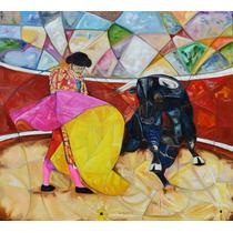 Un Quite Dos Pintura Al Oleo Original Por Kinkin Arte