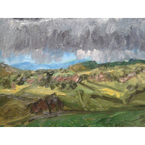 Arte, Paisaje, Pintura Al Oleo Técnica Empaste 56x71