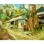 L J Gonzalez Pintura Oleo Original Impresionista