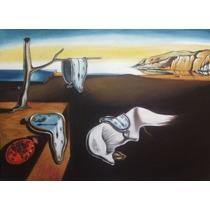 La Persistencia De La Memoria, Salvador Dalí, Oleo, Pintura
