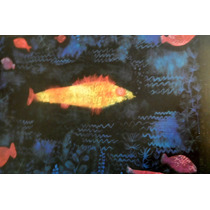 Paul Klee Print Original *le Poisson Rouge* Austria