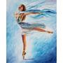 Sky Dance - Pintura Al Óleo Maestro Leonid Afremov, Ballet