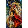 Dance With Bull-pintura Óleo Maestro Leonid Afremov, Animal