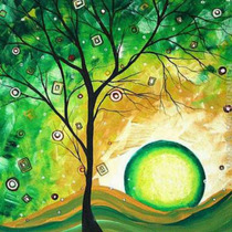 Pintura Al Óleo Abstracto