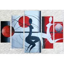 Oleo Abstracto Minimalista