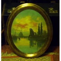 Geza Vincze Signed Circa 1890 Water Color & Oil Very Rare