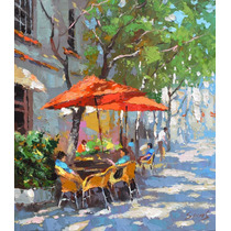 Cafe - Cuadros, Pinturas De Dmitry Spirosbush