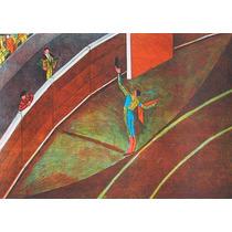 Moises Zabludovsky Serigrafia Torero 1990
