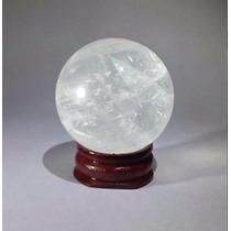 Bola Magica Cuarzo Futuro Esfera De Cristal Esoterismo