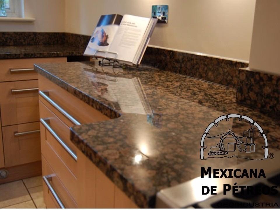 Cubiertas de granito baltic brown para cocinas integrales for Tipos de granito para cocina