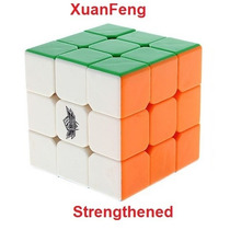 Cyclone Boys Rubik 3x3 Colored/stickerless Strengthened Df