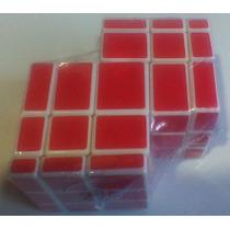 Cubo Rubik 3×3×3 Mirror Doble Rojo Puebla