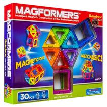 Magformas 3 D Rainbow Juego De 30 Piezas